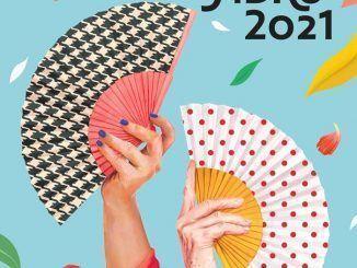 cartel de las fiestas de san isidro 2021, realizado por naranjalidad