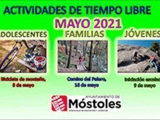 Bicicleta de montaña, escalada en roca o ruta de senderismo, propuestas del Ayuntamiento de Móstoles para mayo