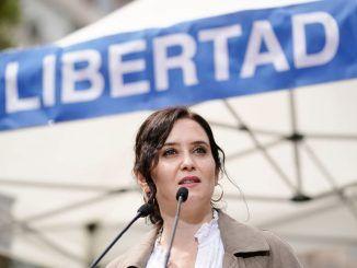 Isabel Díaz Ayuso Presidenta Comunidad de Madrid Elecciones 4M 4 de mayo