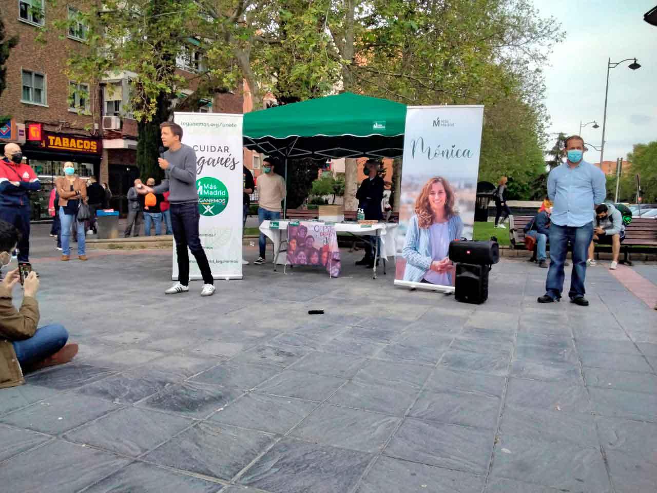 Manuela Bergerot Más Madrid Elecciones 4 de mayo 4M