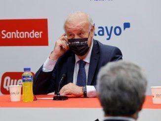 """Del Bosque: """"Zidane ha demostrado lo madridista que es"""""""