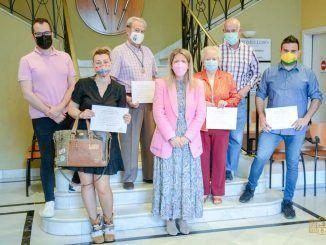 Tomelloso entrega los premios del el I Concurso Local de Cruces de Mayo