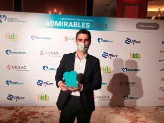 Mario García Gil, jefe de Farmacia del Hospital de Fuenlabrada, es reconocido por su labor durante la pandemia
