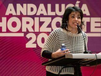 La diputada Teresa Rodríguez