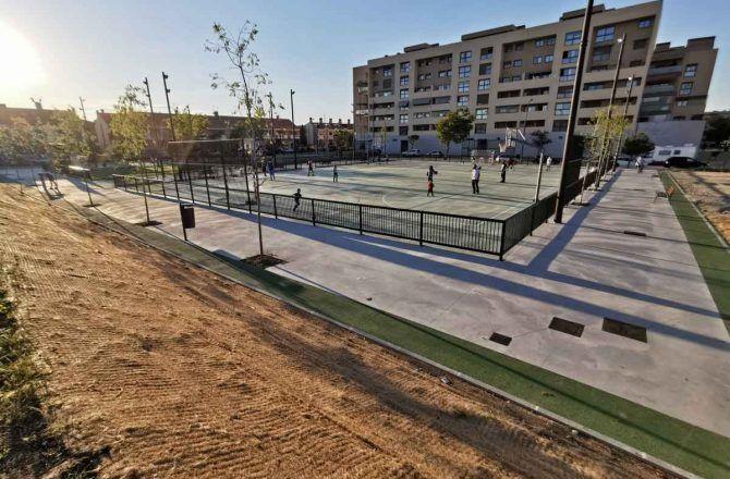 Getafe cuenta con nuevos espacios deportivos