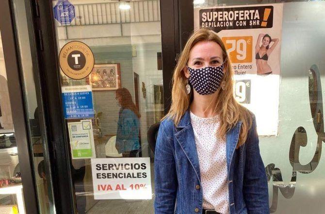 La portavoz de Ciudadanos en Fuenlabrada, Patricia Frutos