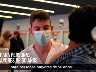 La Comunidad de Madrid amplía hoy la autocita para vacunarse contra el COVID-19 a mayores de 50 años