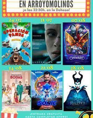 El Ayuntamiento de Arroyomolinos presenta sus Noches de Cine de Verano