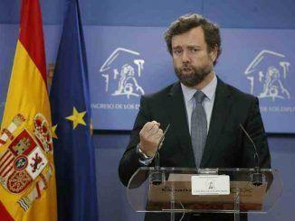 El portavoz de Vox en el Congreso de los Diputados, Iván Espinosa de los Monteros. EFE/Javier Lizón