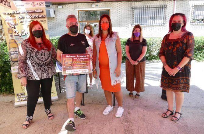 "Primer premio del concurso de la ""I Ruta de la Empanadilla de Móstoles"""