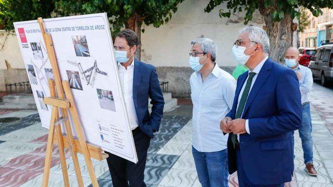 La Comunidad de Madrid invierte casi 3 millones en la mejora del casco antiguo de Torrejón de Ardoz